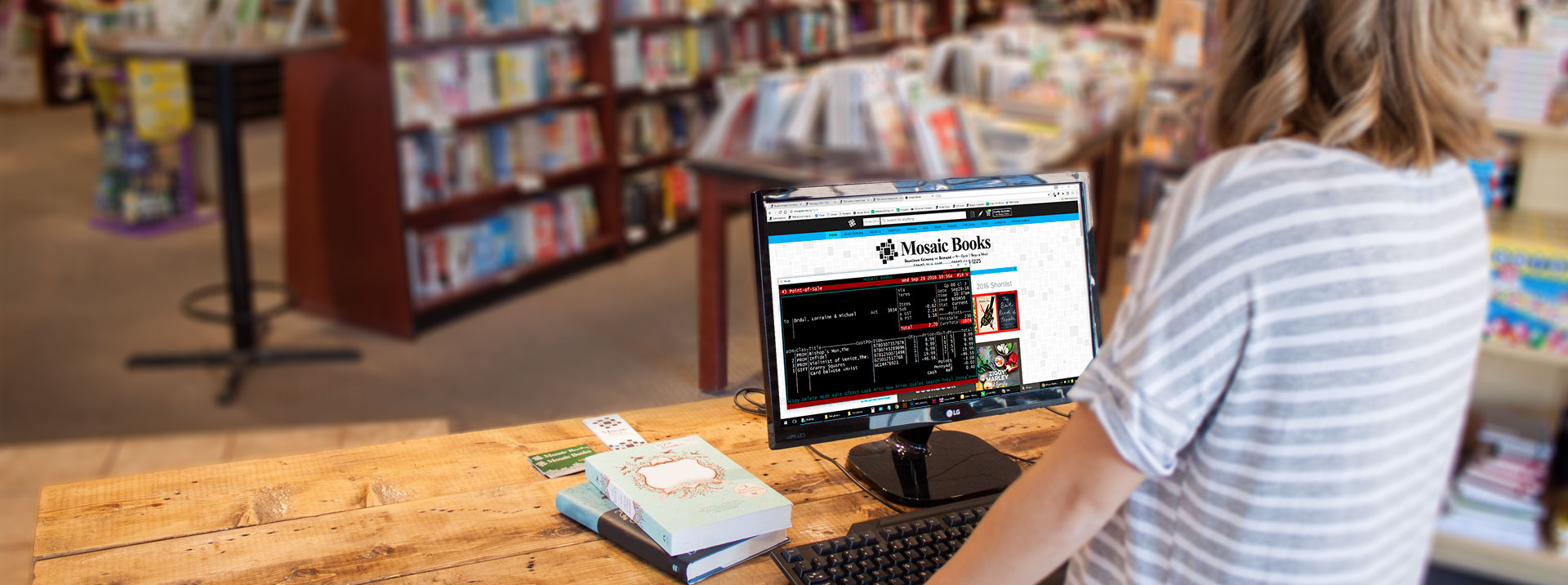 Bookmanager has everything you need to run your bookstore.